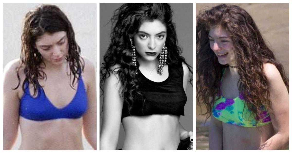Nackt Lorde  Celebrities Who